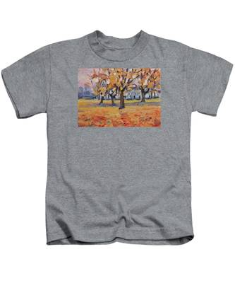 Autumn In The Villa Park Maastricht Kids T-Shirt
