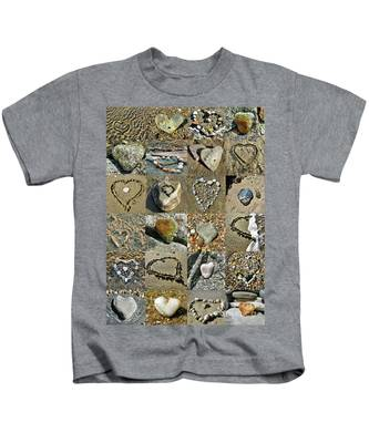 Awesome Hearts Found In Nature - Valentine S Day Kids T-Shirt