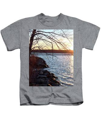 Late-summer Riverbank Kids T-Shirt