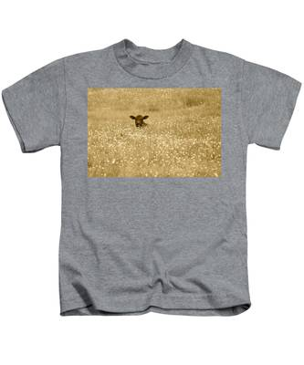 Buttercup In Sepia Kids T-Shirt