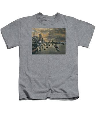 Bye Bye Sail Amsterdam Kids T-Shirt