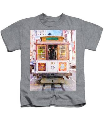 Cable Car No. 10 Kids T-Shirt
