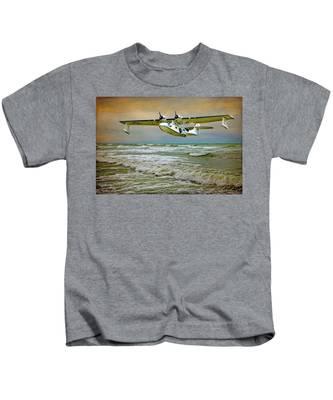 Catalina Flying Boat Kids T-Shirt