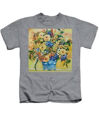 Ceramic Blue Kids T-Shirt