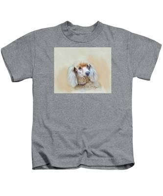 Cindy Kids T-Shirt by Charlie Roman