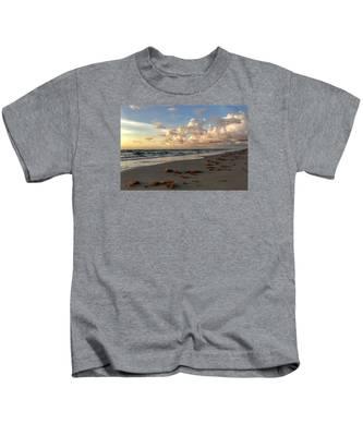 Cloudy Horizon  Kids T-Shirt