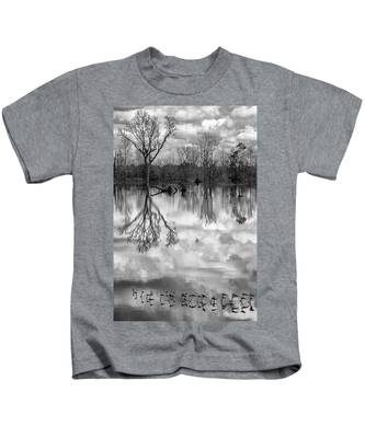 Cloudy Reflection Kids T-Shirt