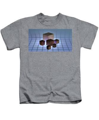 Cubes Kids T-Shirt