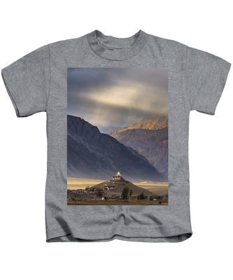 Dusty Evening, Padum, 2006 Kids T-Shirt