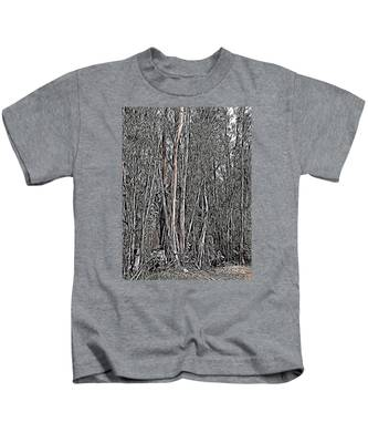 Kids T-Shirt featuring the photograph Eucalyptus  by Bridgette Gomes