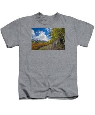 Fall In Colorado Kids T-Shirt