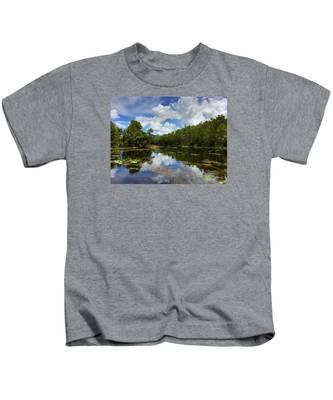 Florida Wetlands Kids T-Shirt