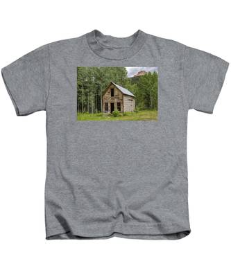 Ghost Town Schoolhouse Kids T-Shirt