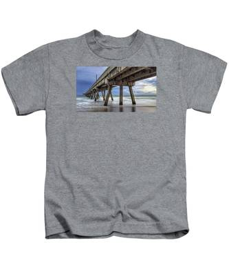 Gloomy Pier Kids T-Shirt