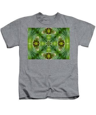 Green Glow Kids T-Shirt