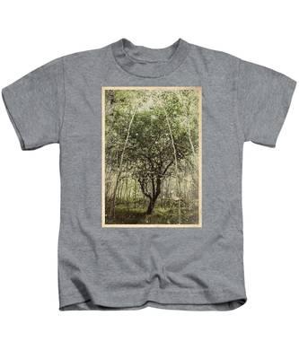 Hand Of God Apple Tree Poster Kids T-Shirt