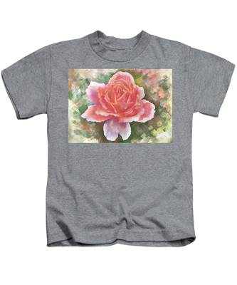 Just Joey Rose From The Acrylic Painting Kids T-Shirt