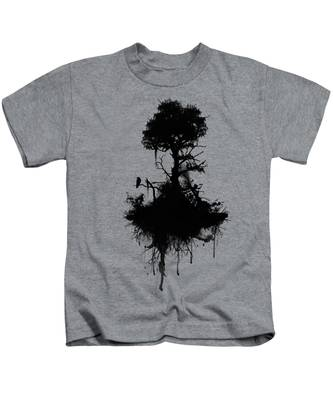 Tree Branches Kids T-Shirts