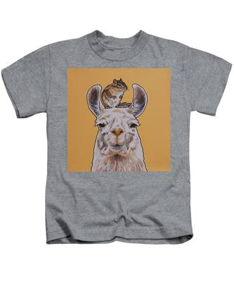 Llois The Llama Kids T-Shirt
