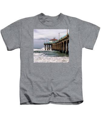 Manhattan Pier Surf Kids T-Shirt