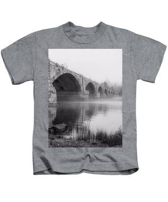 Misty Bridge Kids T-Shirt