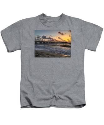 Pier Waves Kids T-Shirt