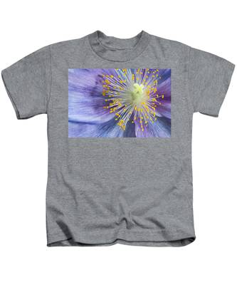 Poppy Fireworks Kids T-Shirt