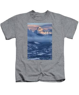 Precipice Smiling Kids T-Shirt