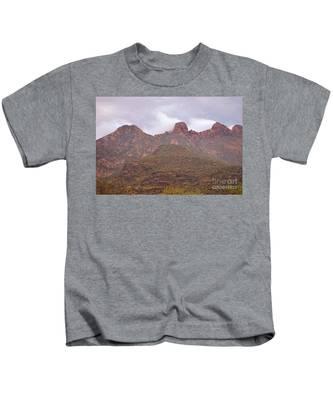 Pusch Ridge Tucson Arizona Kids T-Shirt