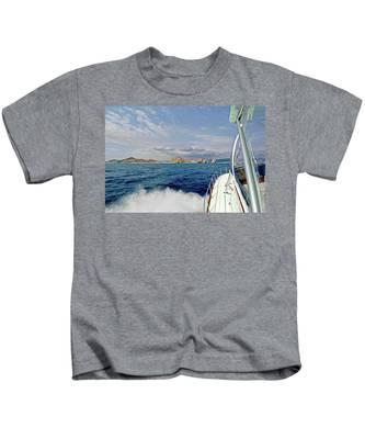 Returning To Port Kids T-Shirt