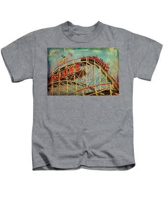 Riding The Cyclone Kids T-Shirt