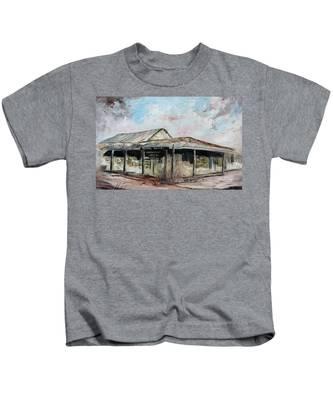 Royal Hotel, Birdsville Kids T-Shirt