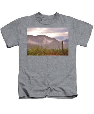 Santa Catalina Mountains II Kids T-Shirt