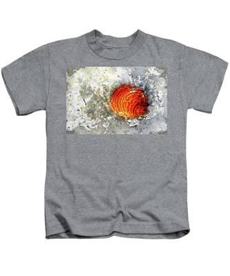 Seashell Art  Kids T-Shirt