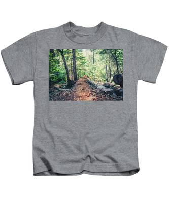 Somber Walk- Kids T-Shirt
