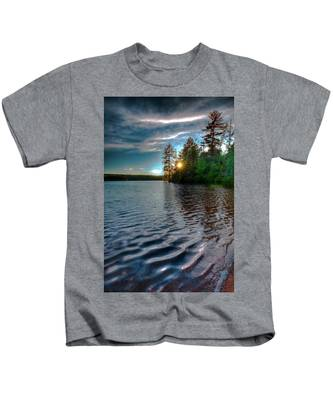 Star Sunset On Nicks Lake Kids T-Shirt