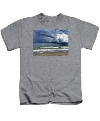 Stormy Ocean Kids T-Shirt