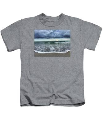 Stormy Waves Kids T-Shirt