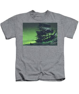 The Flying Dutchman Kids T-Shirt