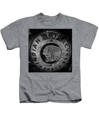 The Indian Motorcycle Logo Kids T-Shirt