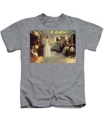 The Wedding Morning Kids T-Shirt