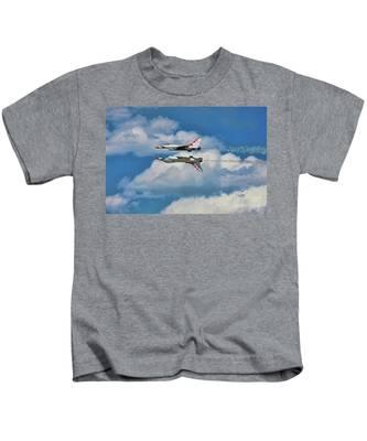 Thunderbirds Inverted Kids T-Shirt