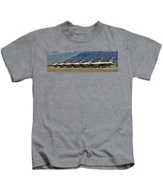 Thunderbirds Ready Kids T-Shirt