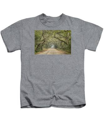 Tree Tunnel Kids T-Shirt