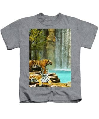 Two Tigers Kids T-Shirt