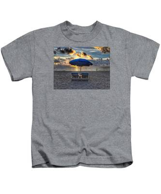 Umbrella For Two Kids T-Shirt