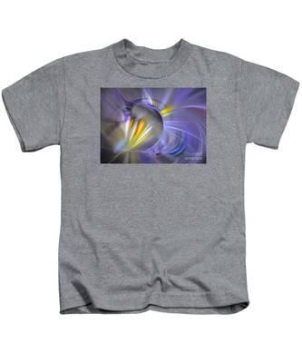 Vigor - Abstract Art Kids T-Shirt