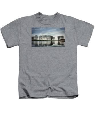 Water Reflection Kids T-Shirt