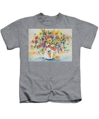 Watercolor Series 33 Kids T-Shirt