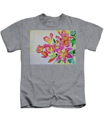Watercolor Series No. 225 Kids T-Shirt